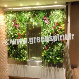 Green Spirit -MUR VÉGETAL VIVANT - BOULANGERIE SAVEURS DU PORT - Vannes (56)